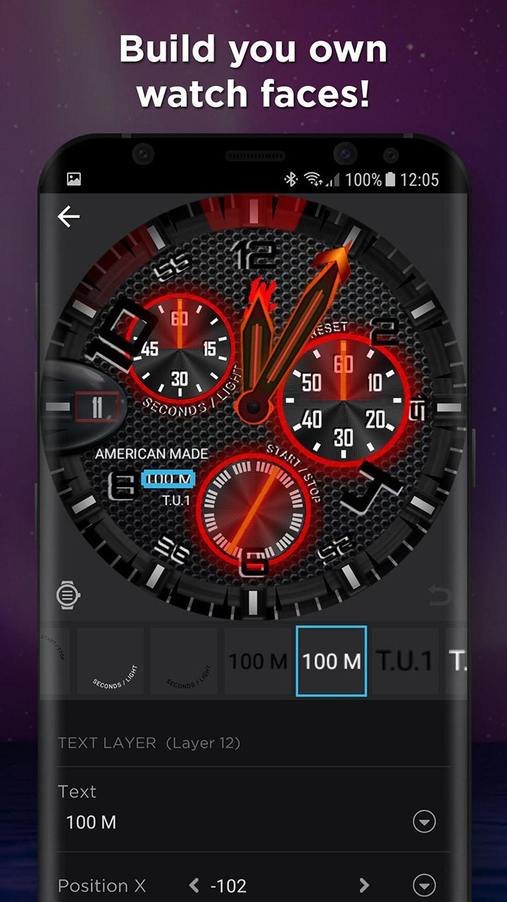 WatchMaker screen 3