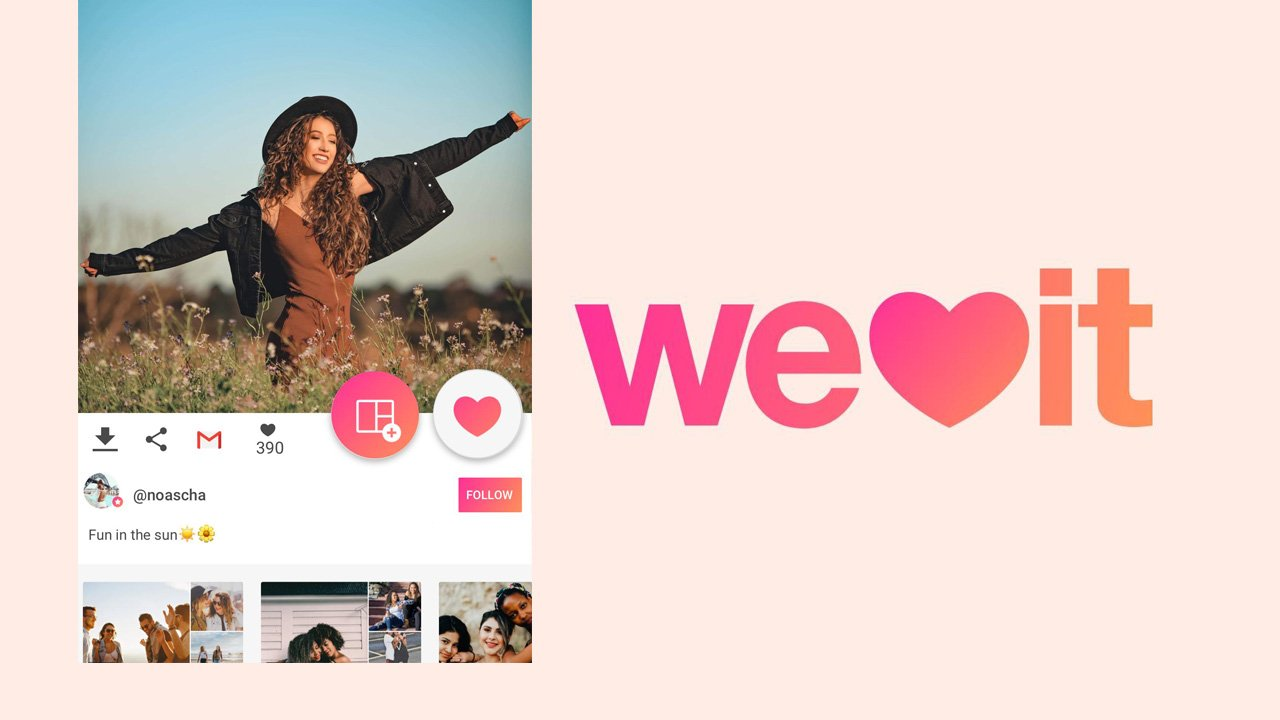 We Heart It poster