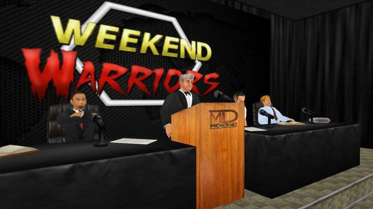 Weekend Warriors MMA poster