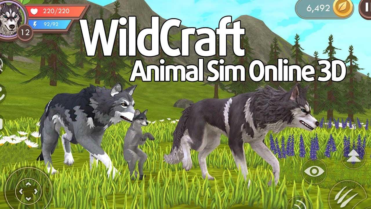 WildCraft Animal Sim Online 3D poster