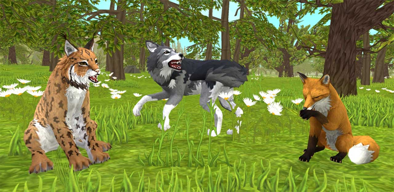 WildCraft Animal Sim Online 3D screen 1