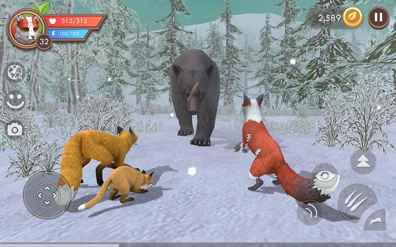 WildCraft Animal Sim Online 3D screen 3