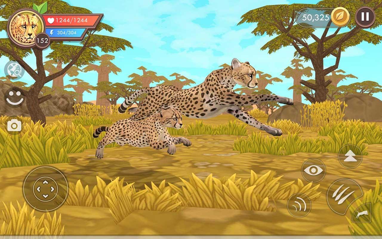 WildCraft Animal Sim Online 3D screen 4