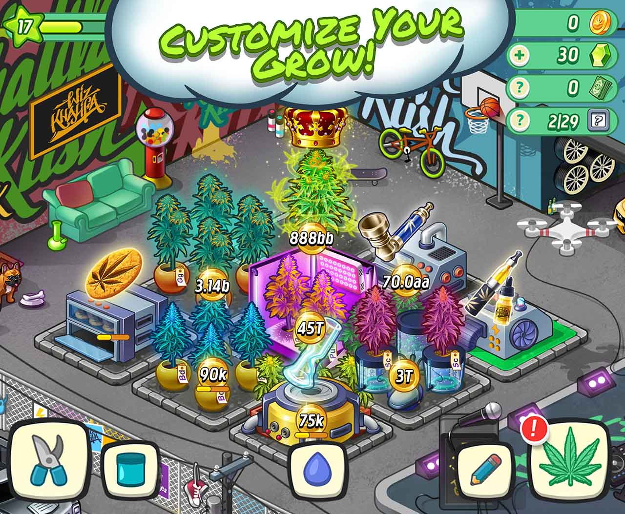 Wiz Khalifa Weed Farm screen 5