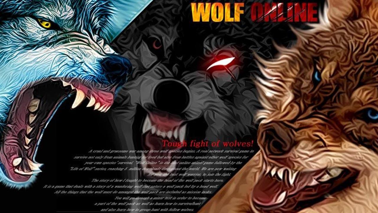 Wolf Online poster