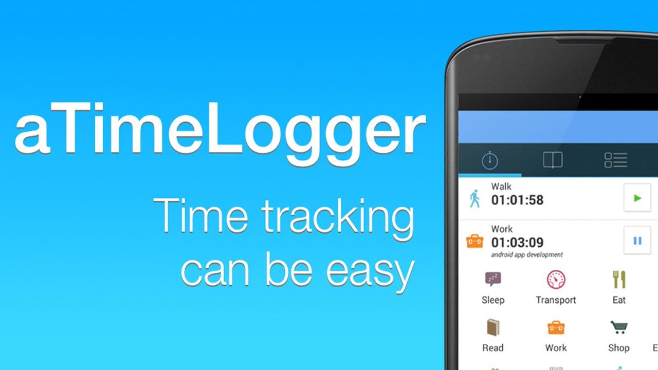 aTimeLogger poster