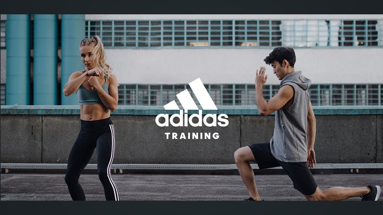 adidas Training by Runtastic poster