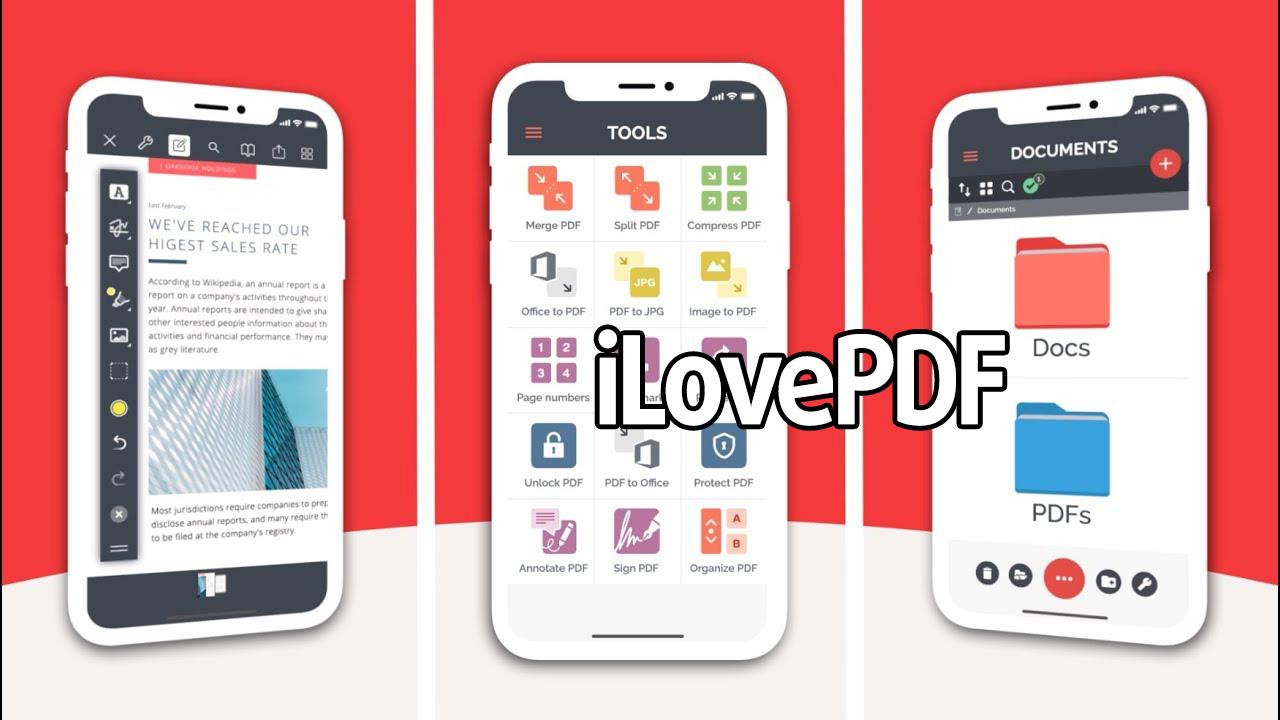 iLovePDF poster