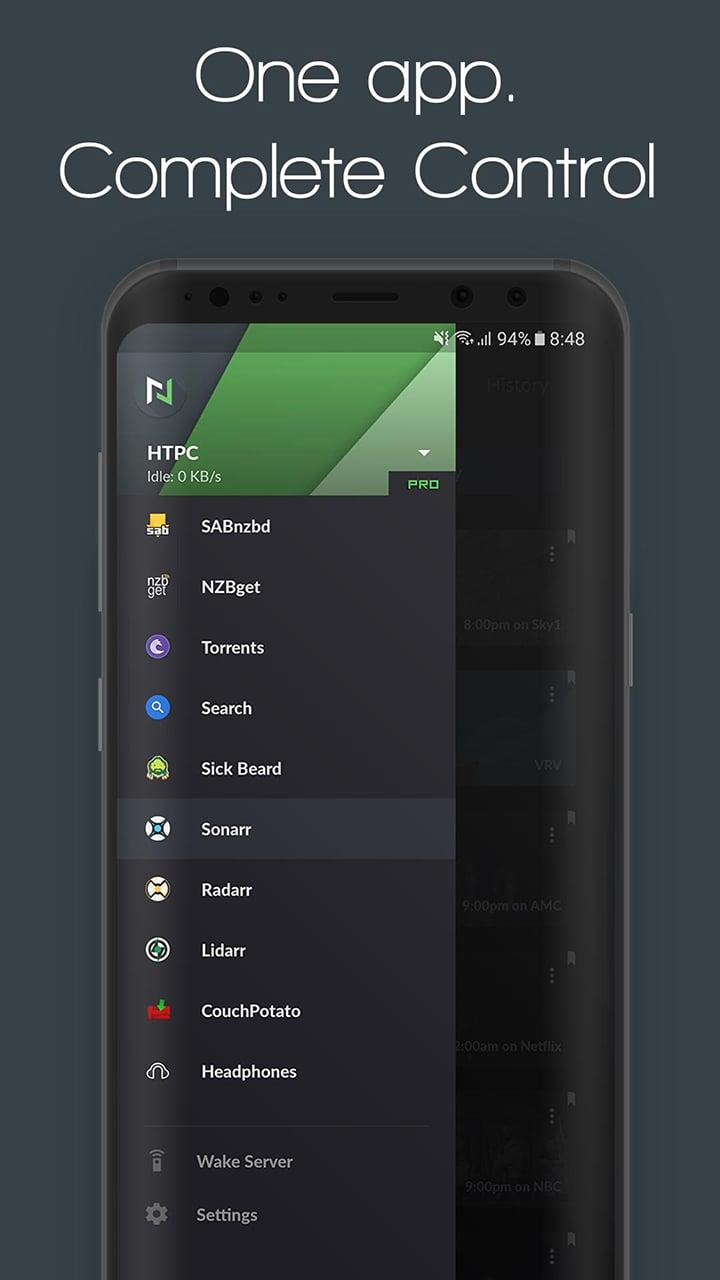 Nzb360 screen 0