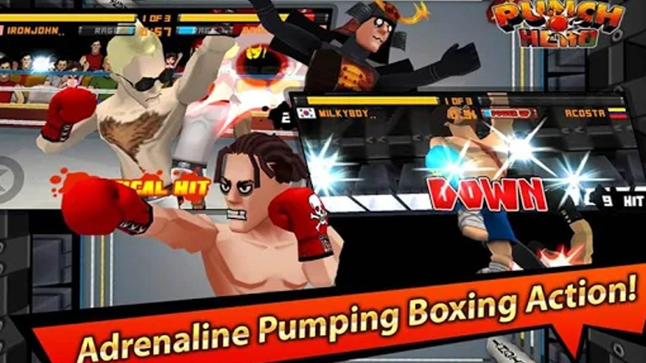 Punch hero screen 2