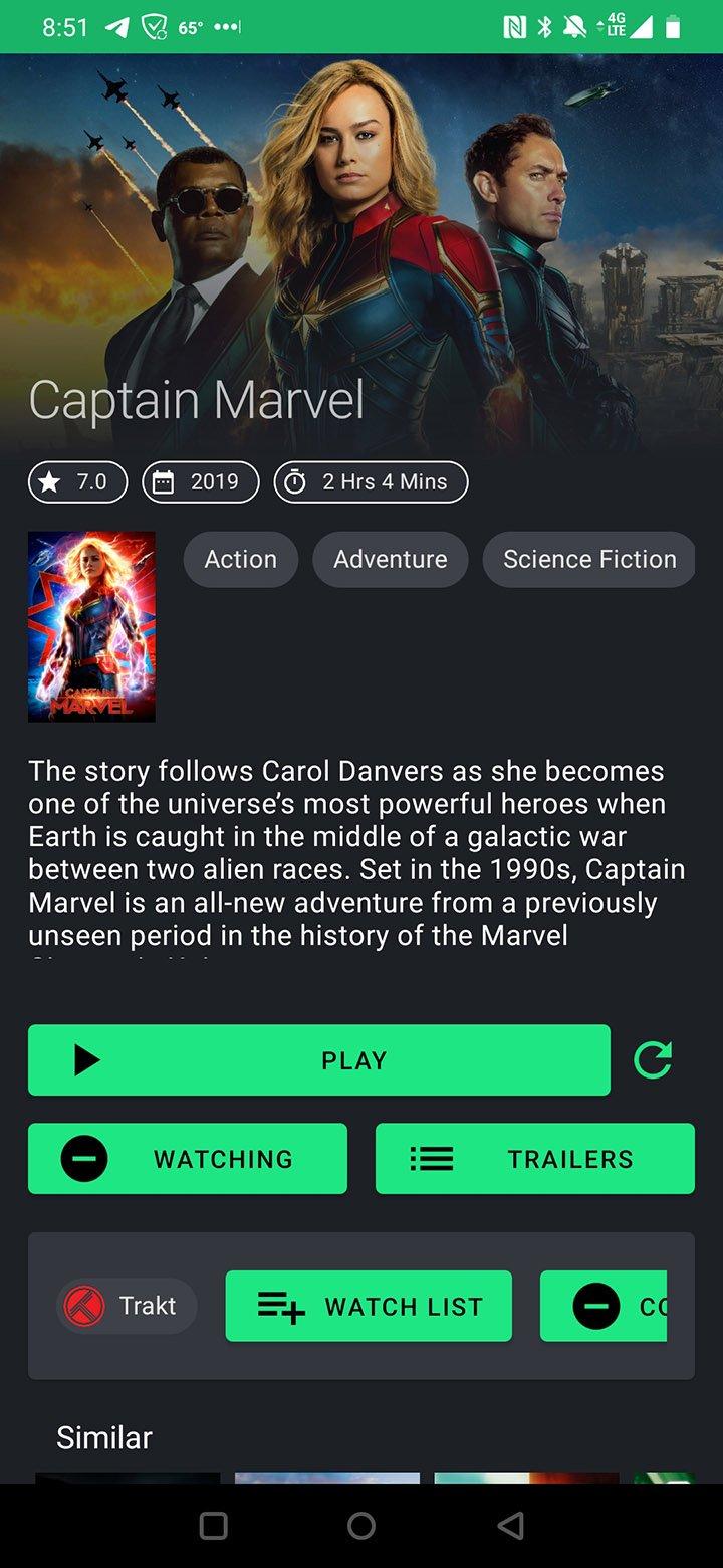 TVZion app screenshot 3