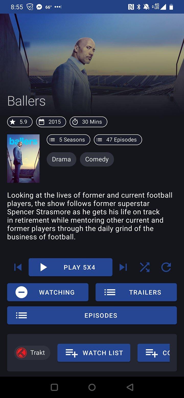 TVZion app screenshot 4