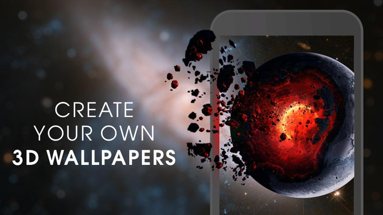 3D Wallpaper Parallax poster