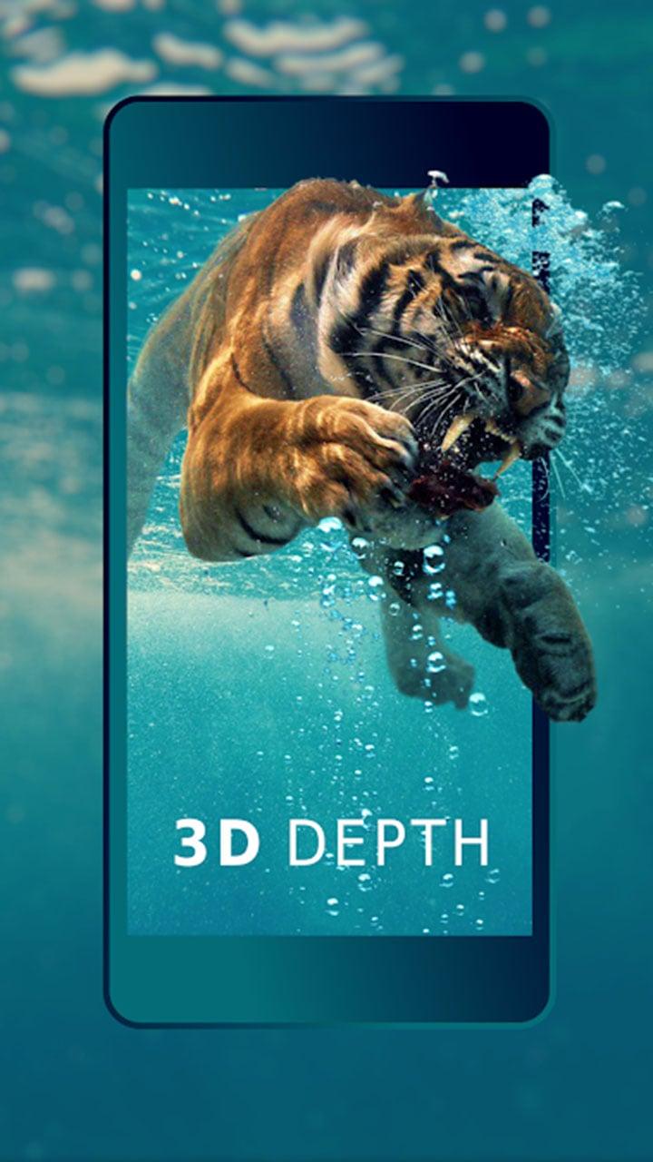3D Wallpaper Parallax screen 1