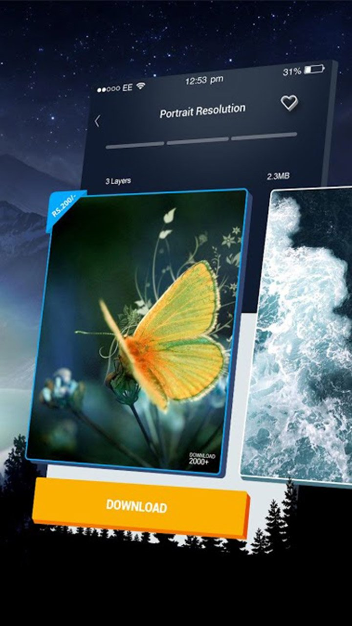 3D Wallpaper Parallax screen 4