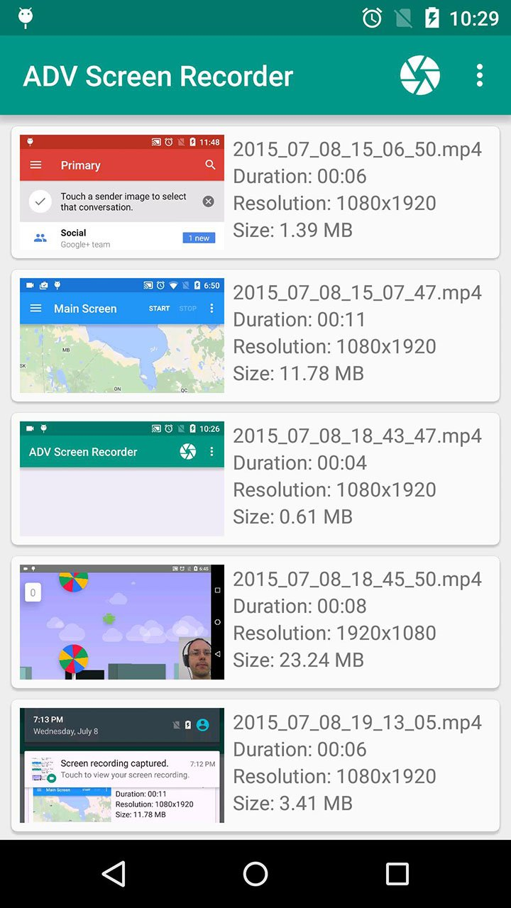 ADV Screen Recorder screen 0
