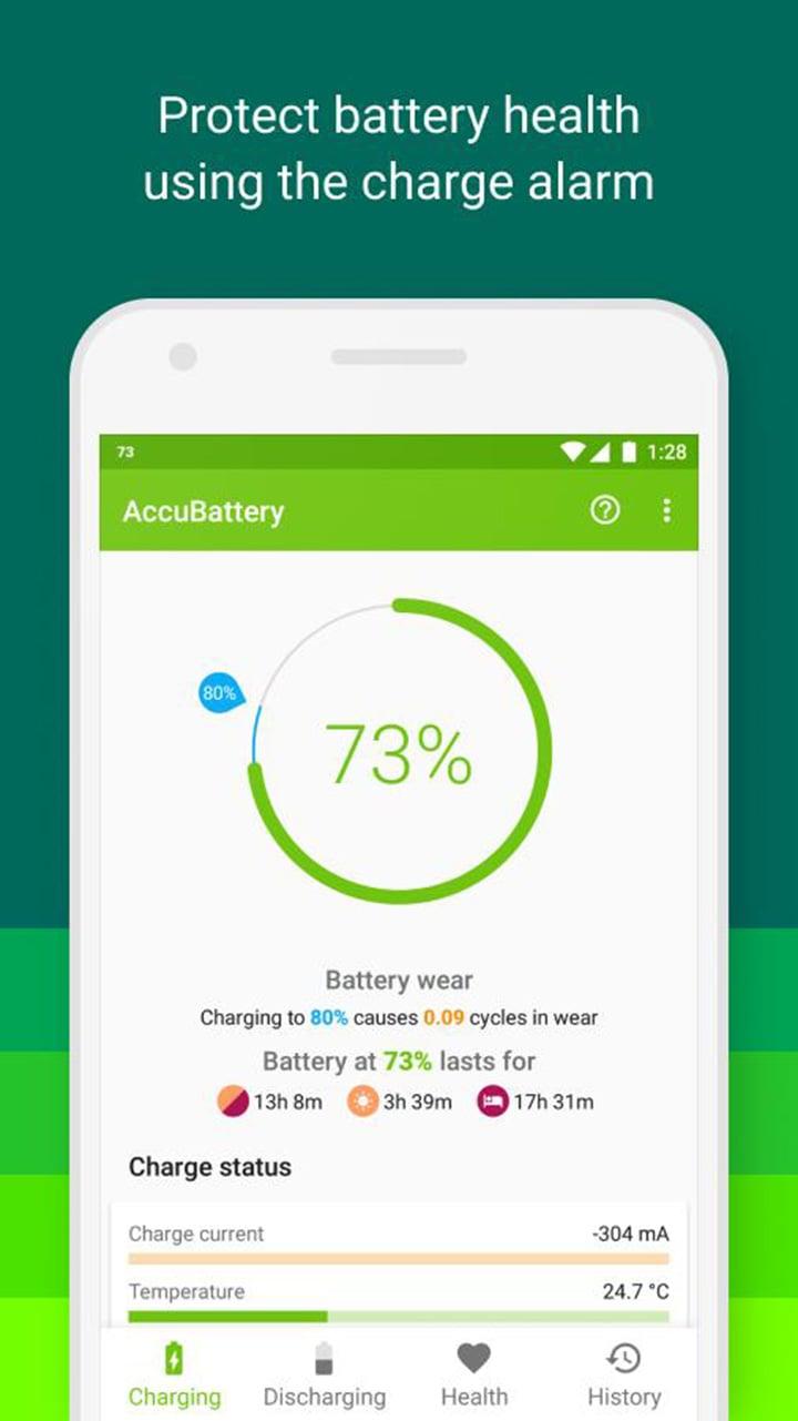 AccuBattery screen 0