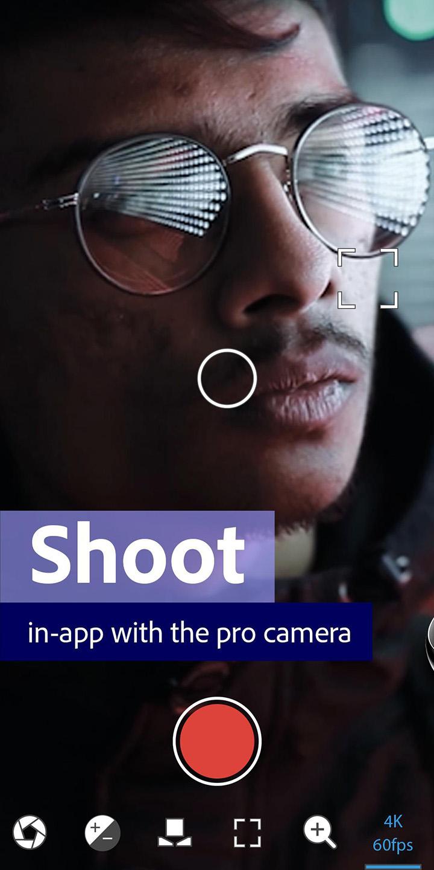 Adobe Premiere Rush screen 0