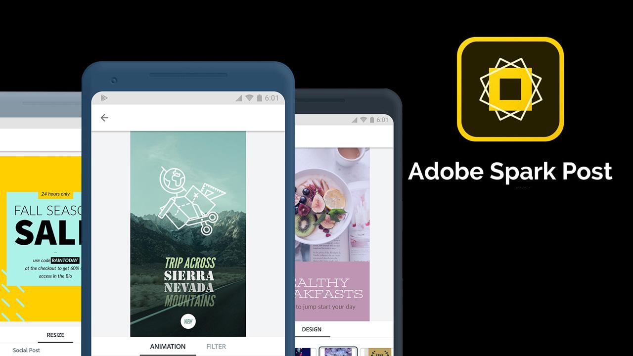 Adobe Spark Post poster