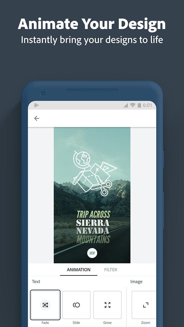Adobe Spark Post screen 3
