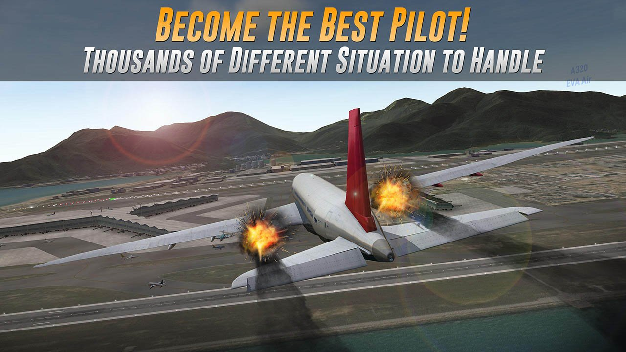 Airline Commander screen 2