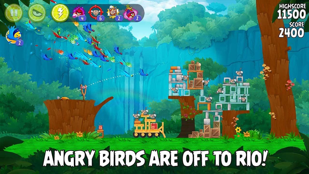 Angry Birds Rio screen 0