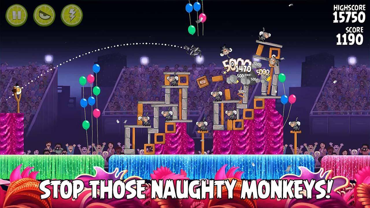 Angry Birds Rio screen 1