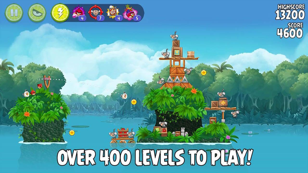 Angry Birds Rio screen 2