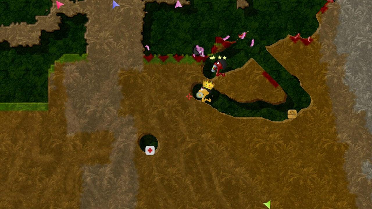 Annelids Online battle screen 0