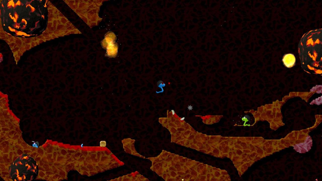 Annelids Online battle screen 3