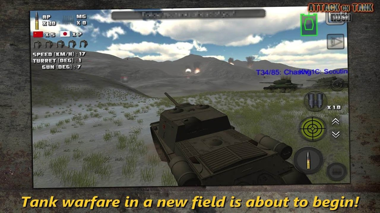Attack on Tank Rush screen 4