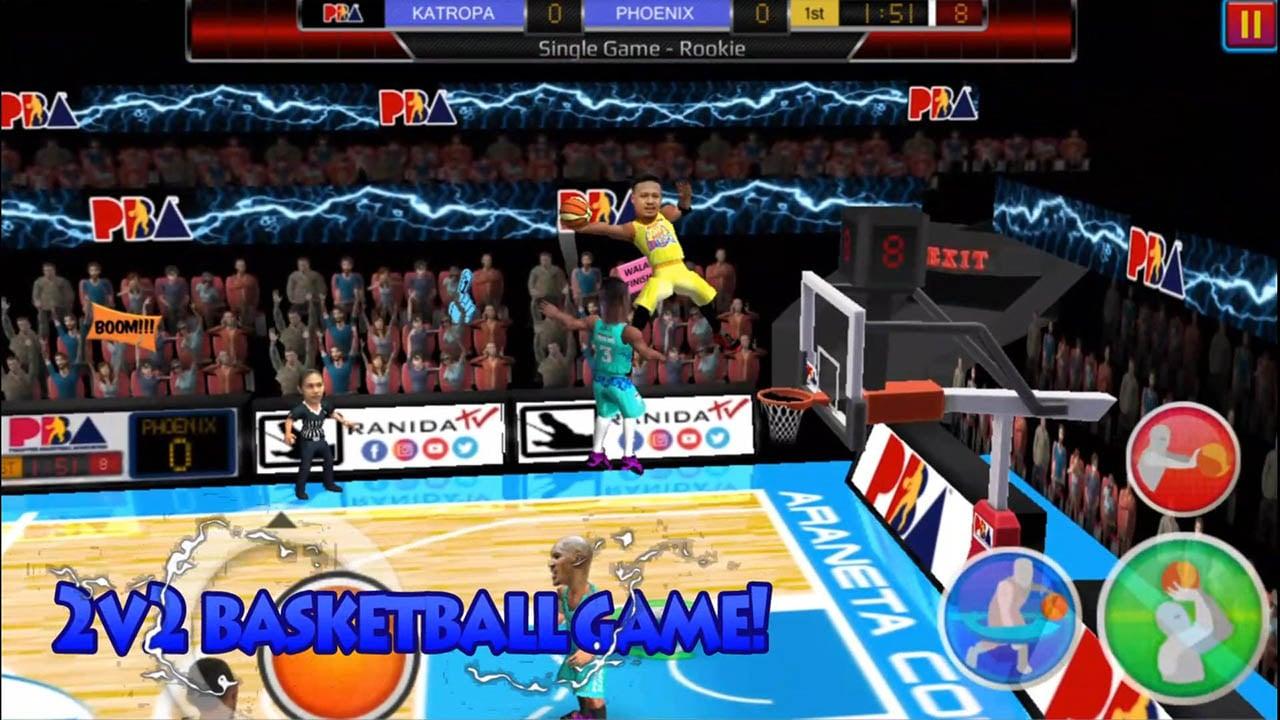 Basketball Slam 2020 screen 0