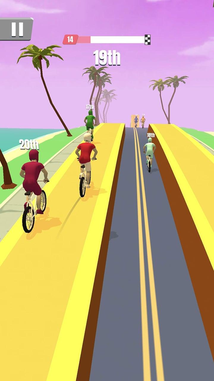 Bike Rush screen 1
