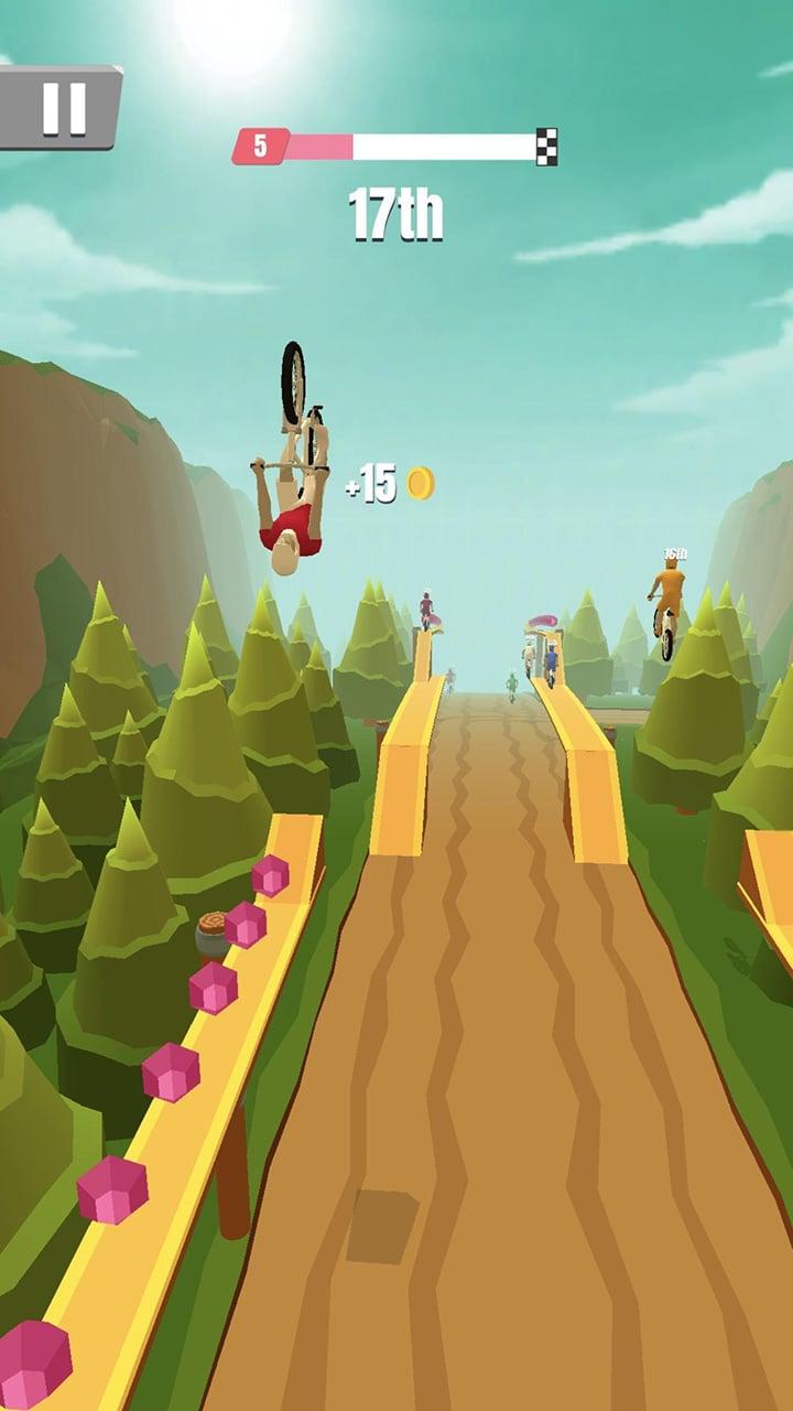 Bike Rush screen 2