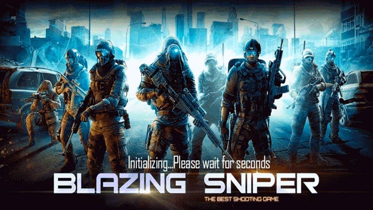 Blazing Sniper poster