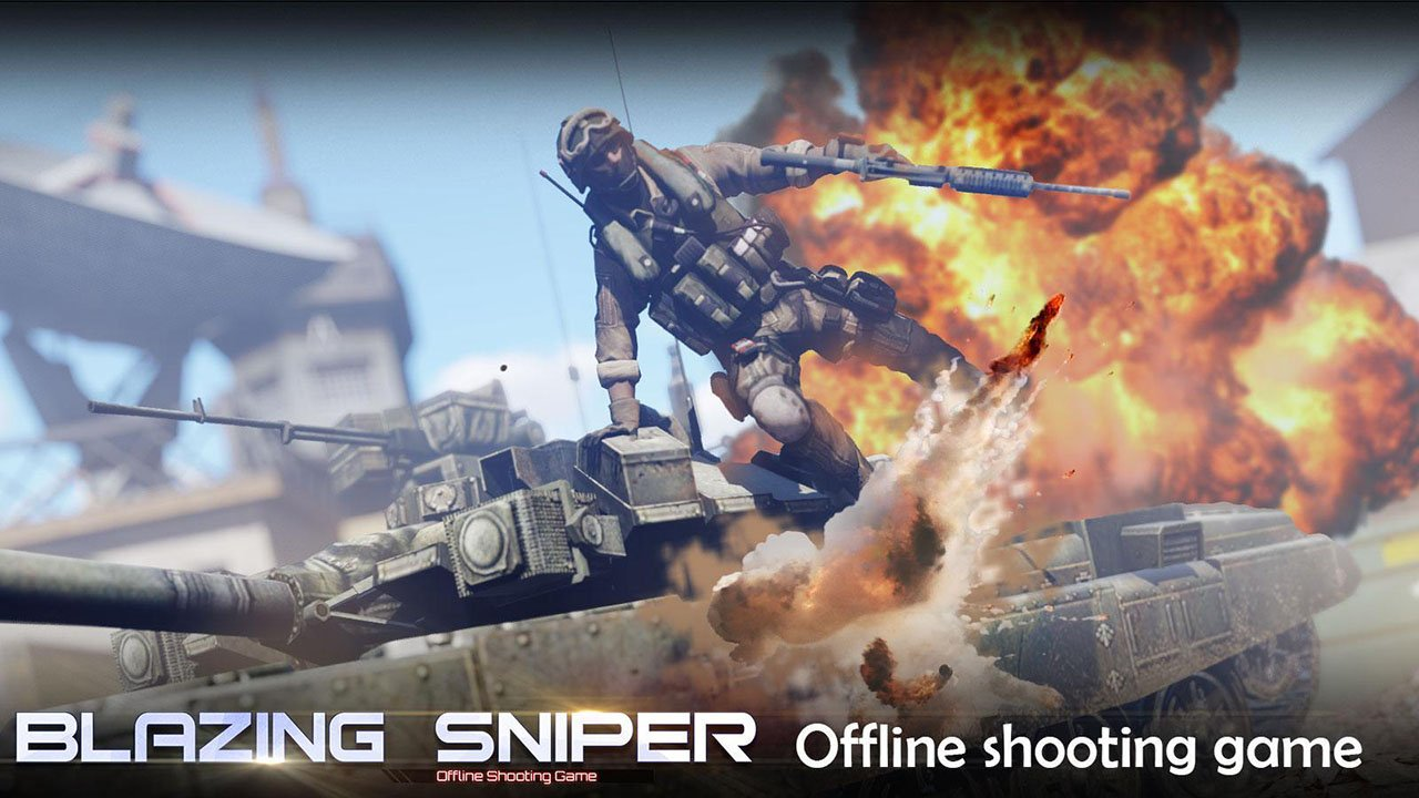 Blazing Sniper screen 0