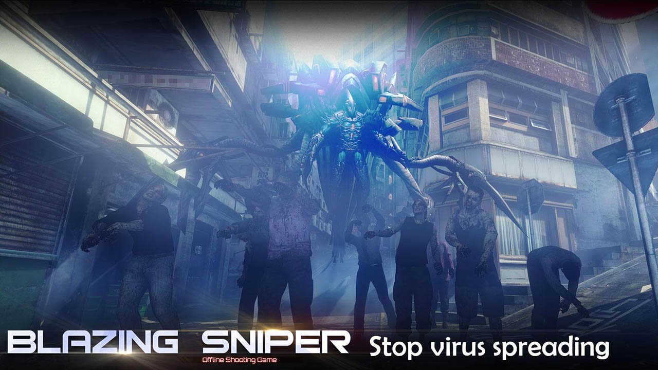 Blazing Sniper screen 2