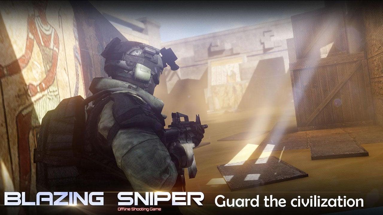 Blazing Sniper screen 3
