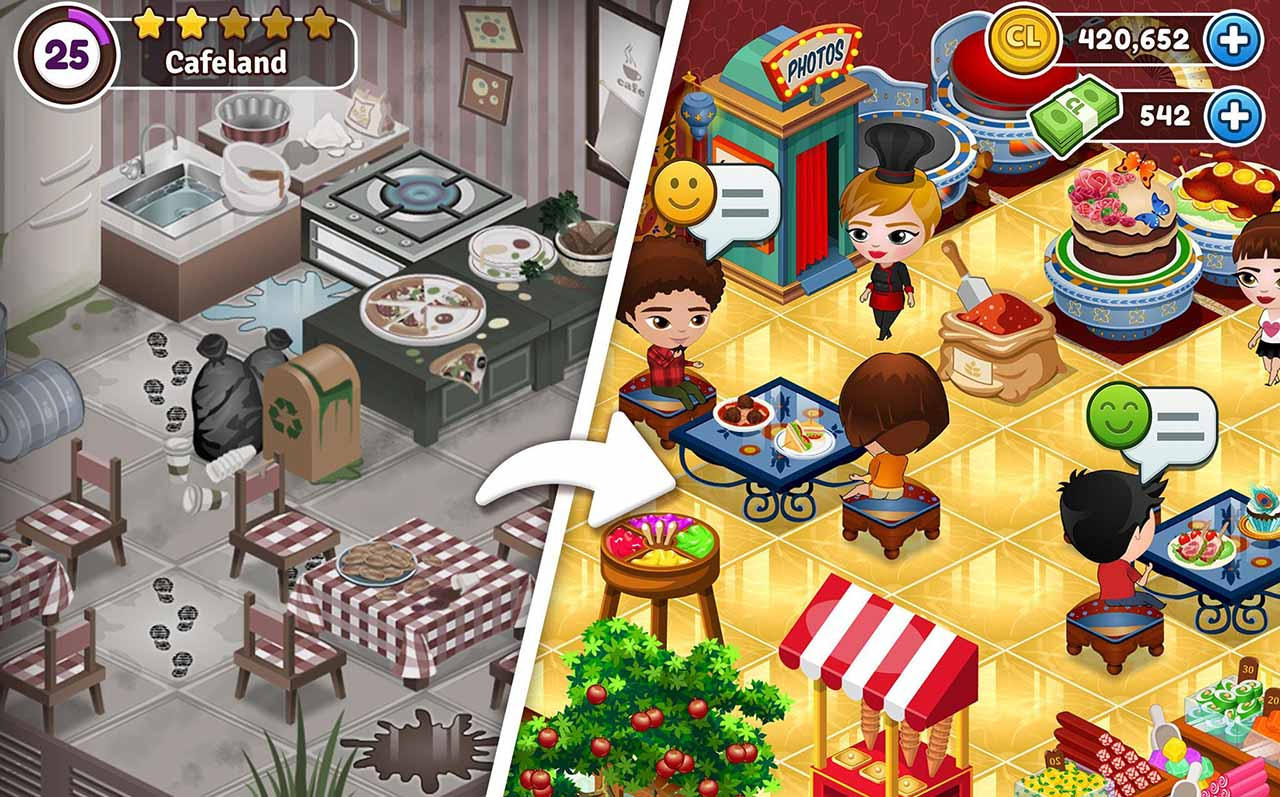 Cafeland screen 0