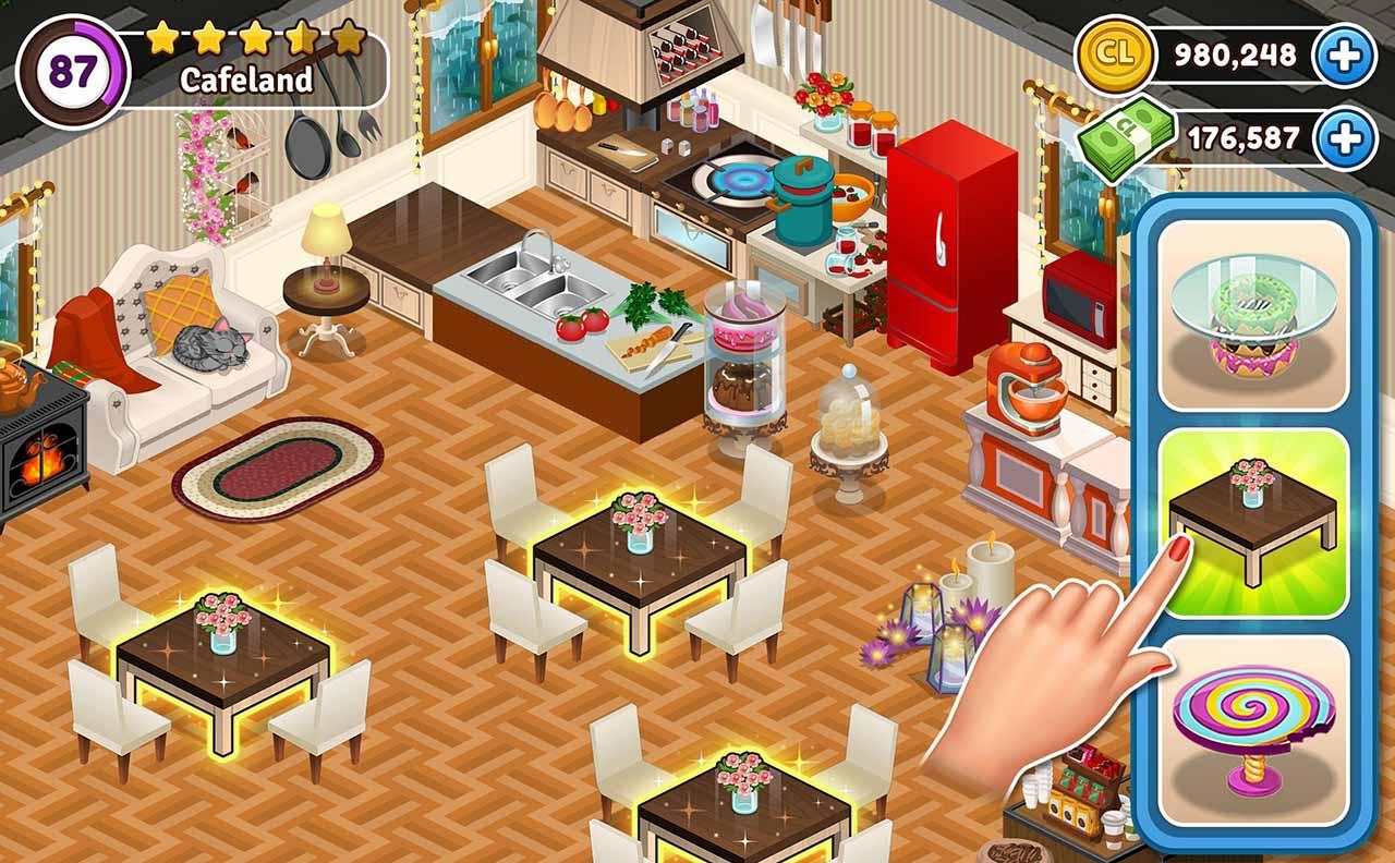 Cafeland screen 1