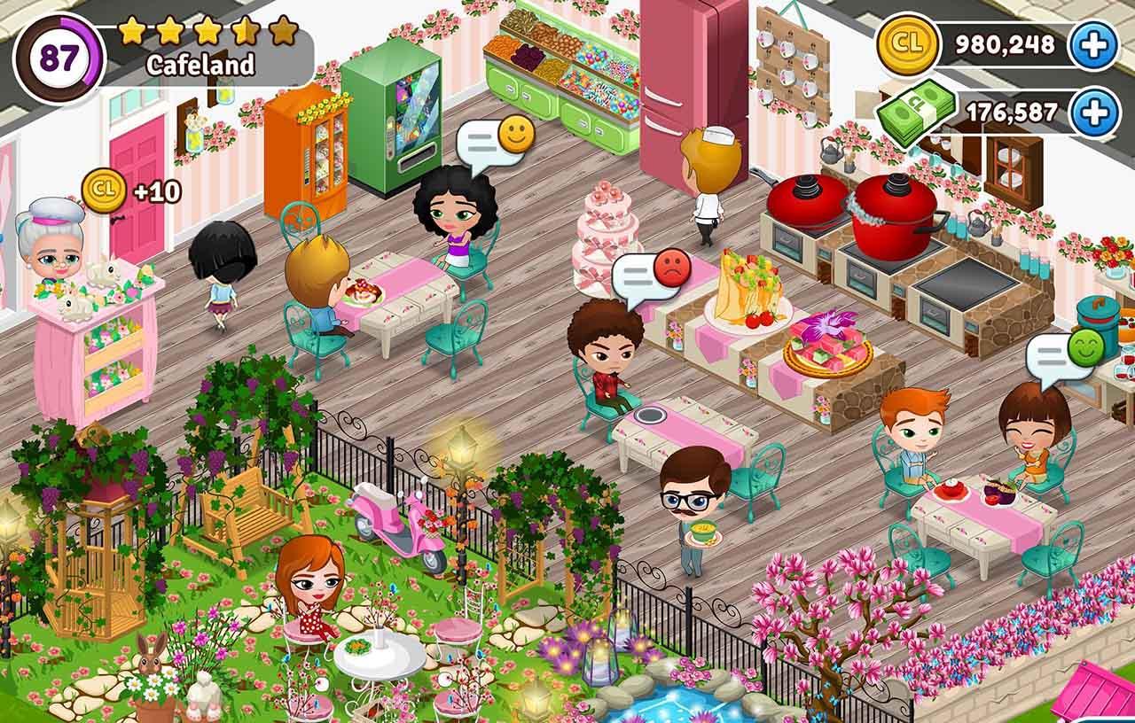 Cafeland screen 2