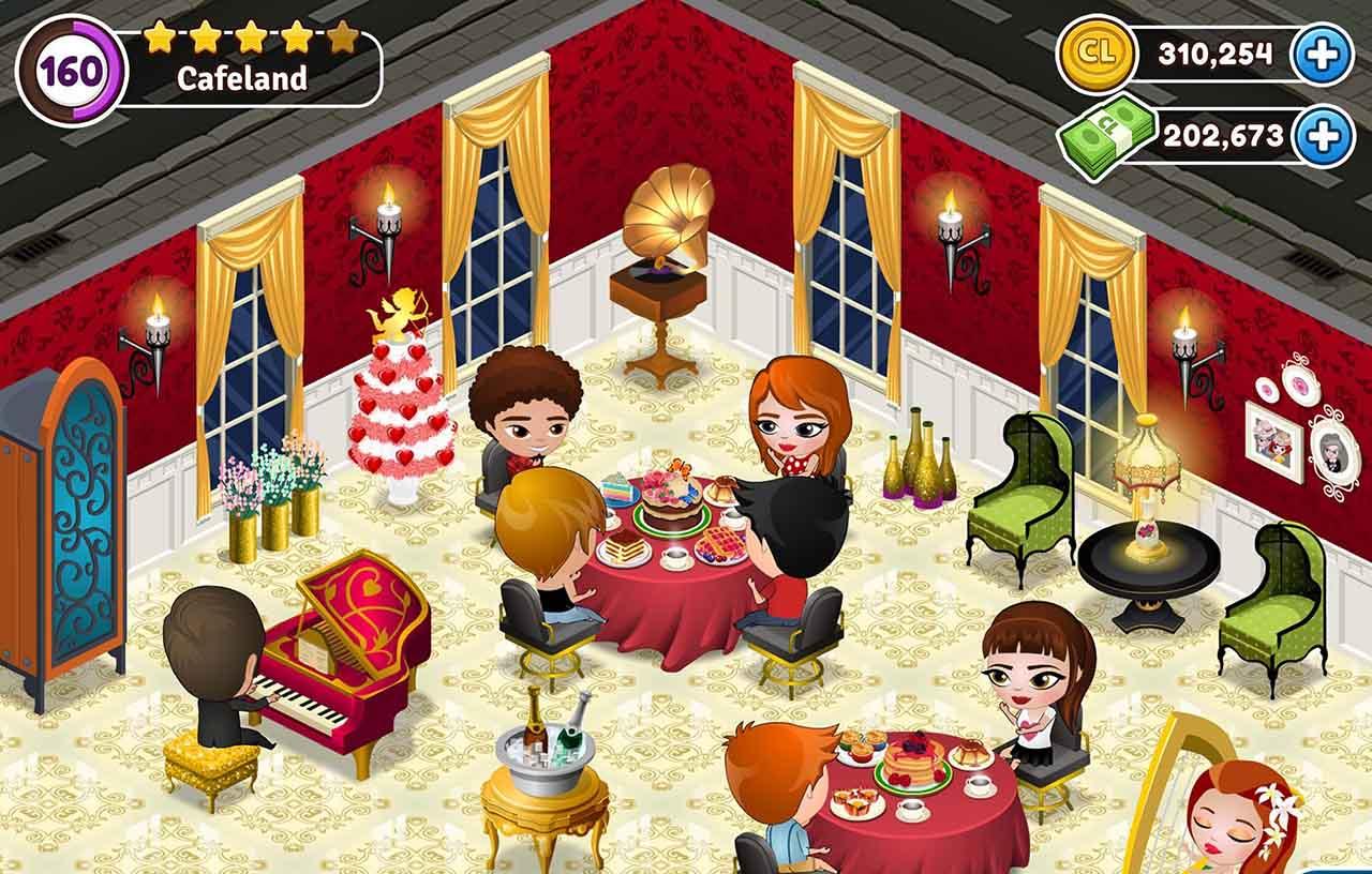 Cafeland screen 3