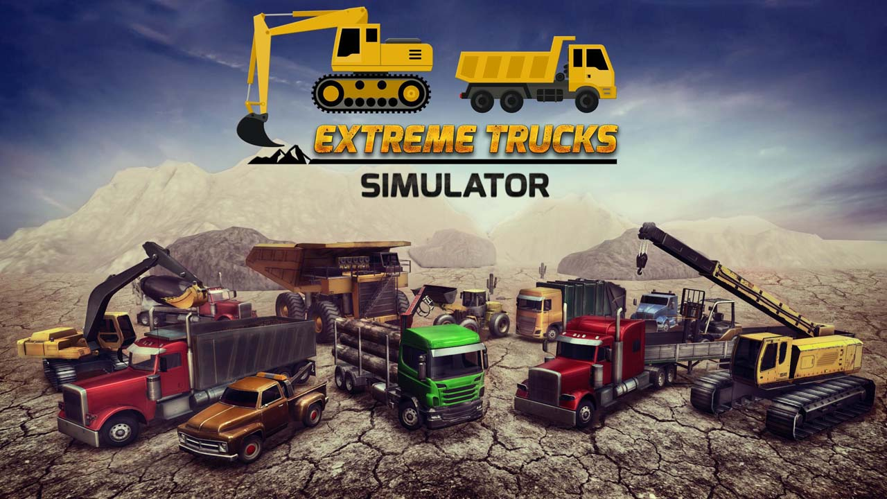 Construction Sim 2017 poster