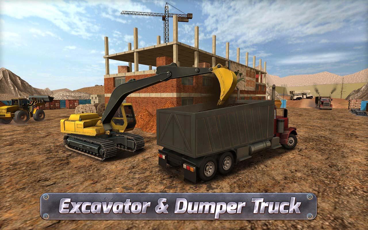 Construction Sim 2017 screen 1