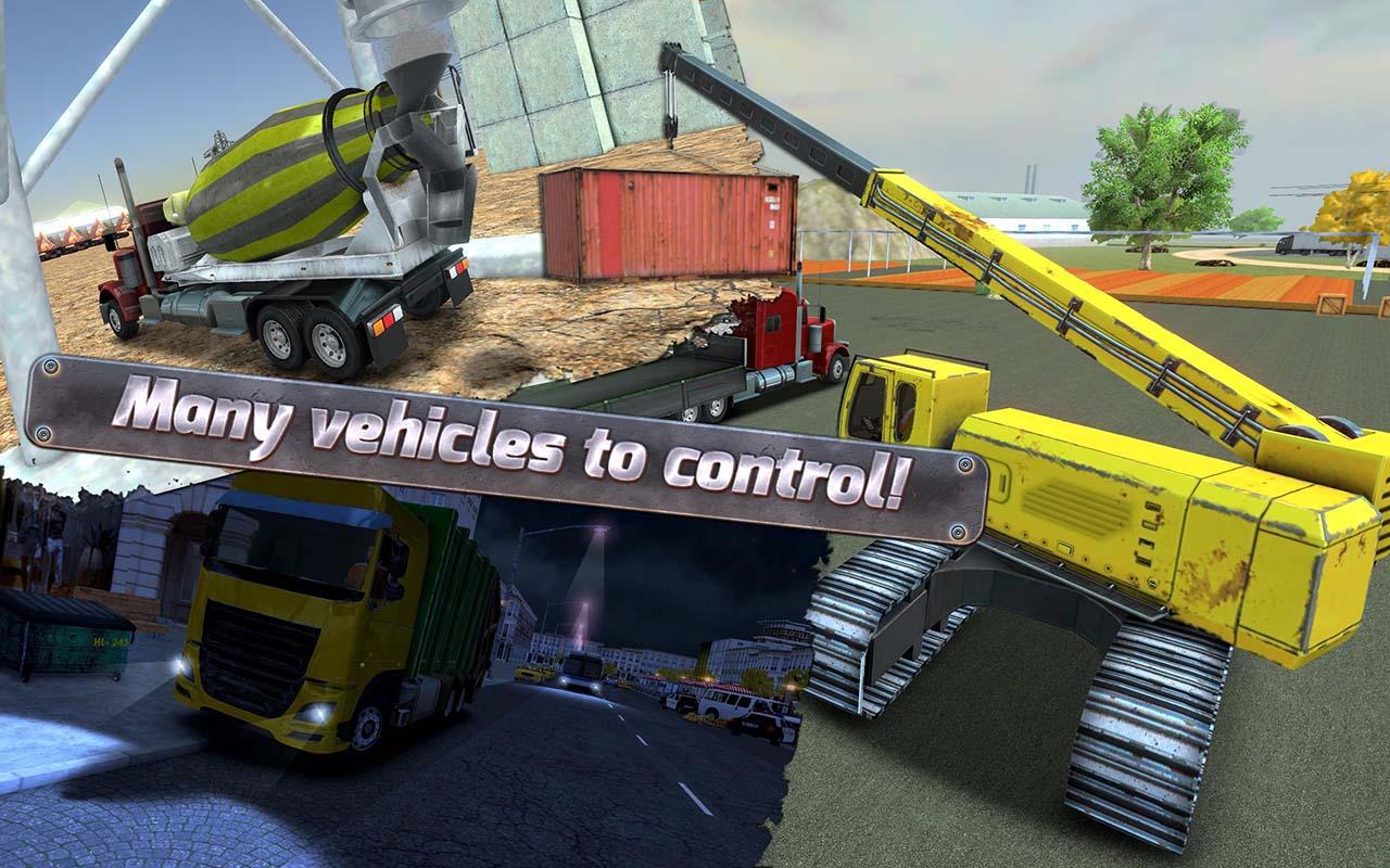 Construction Sim 2017 screen 4
