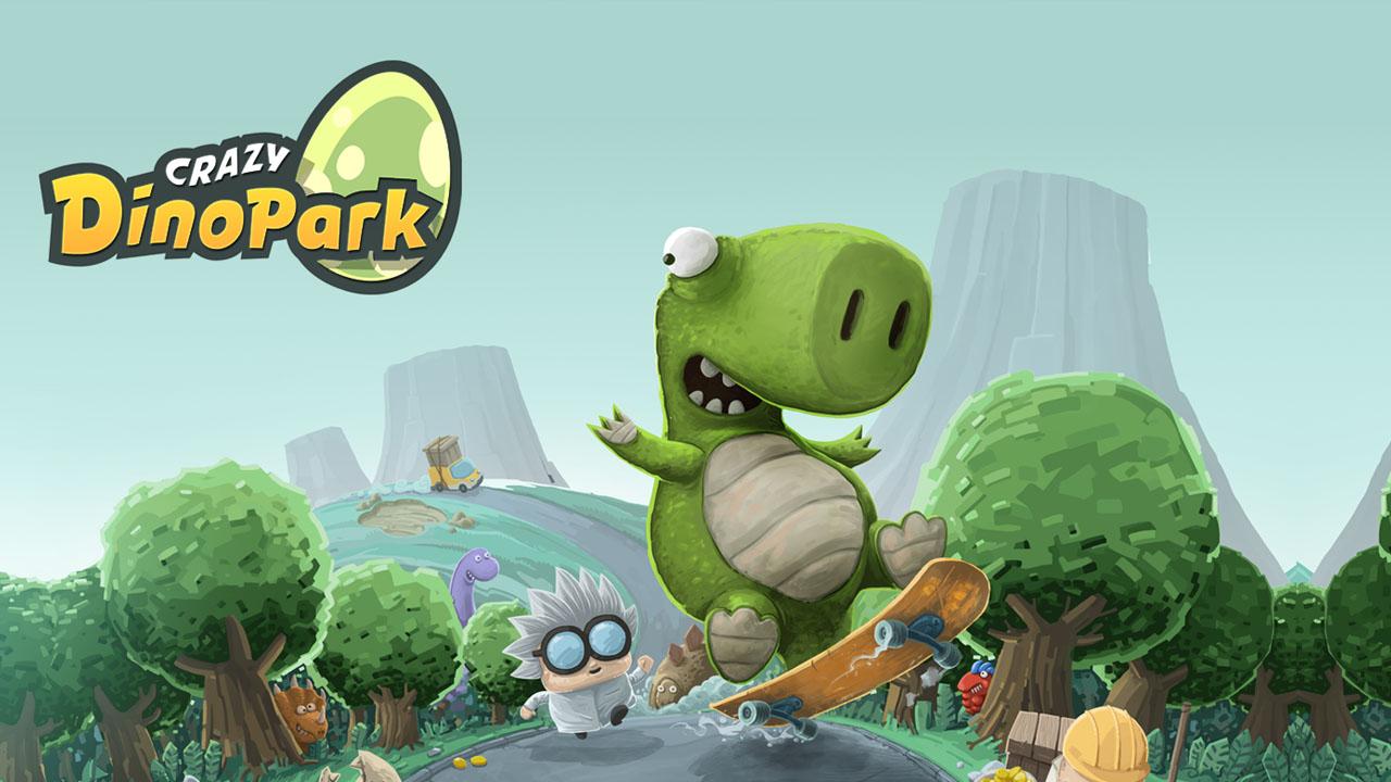 Crazy Dino Park poster