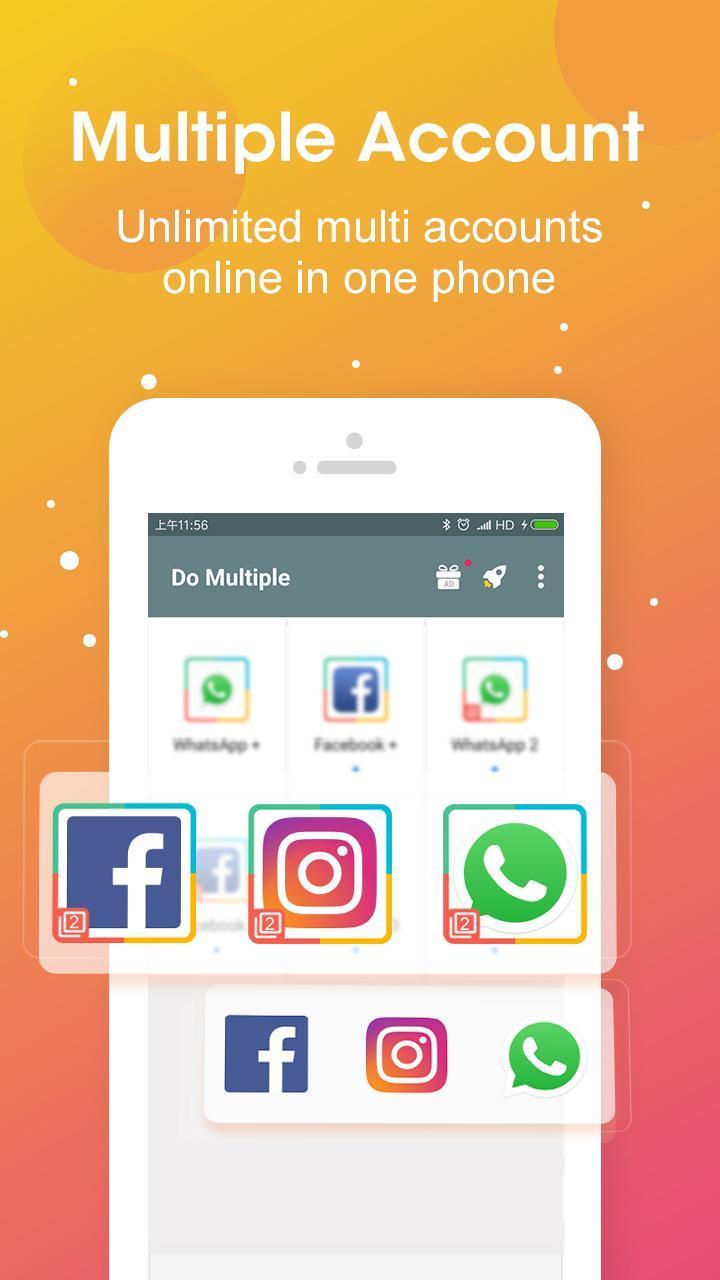 DO Multiple Accounts screen 0