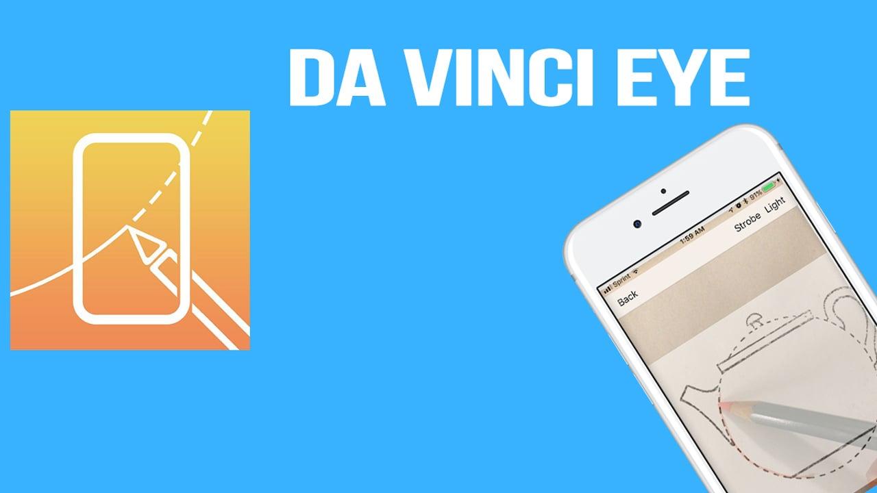 Da Vinci Eye poster