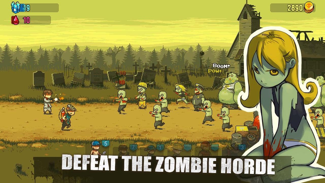 Dead Ahead Zombie Warfare screen 1