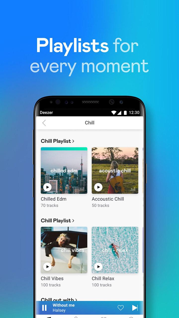 Deezer Music Player screen 3